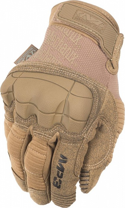 Mechanix - Taktické rukavice M-PACT 3 Coyote Brown, Vel. XL