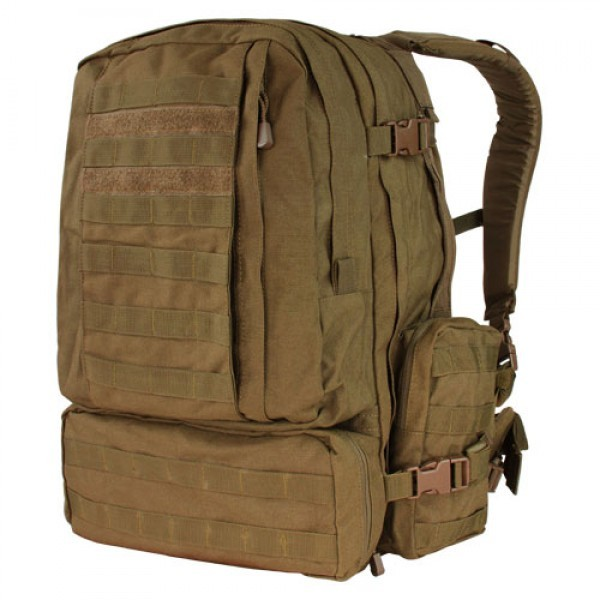 Condor - Batoh MOLLE 3-DAYS ASSAULT, coyote brown